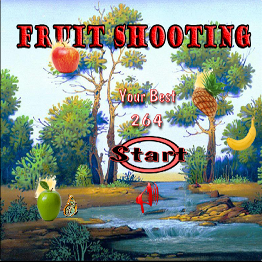 Fruit shoot game - Fruit Shoot Game Screenshot