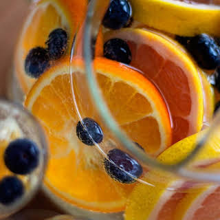 Blueberry White Wine Sangria Recipes.