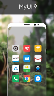 MyUI 9 - Icon Pack Screenshot