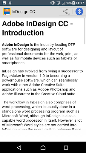 Guide To Adobe_InDesign CC for PC