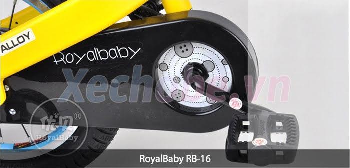 đĩa sên xe đạp royalbaby 16