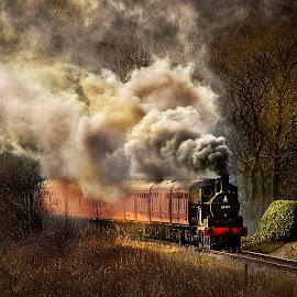 by Stephen Hooton - Transportation Trains ( transport, trains,  )