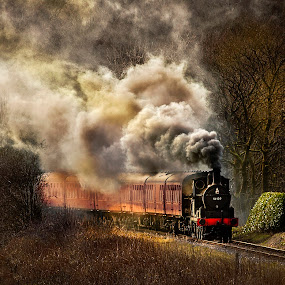 by Stephen Hooton - Transportation Trains ( transport, trains,  )