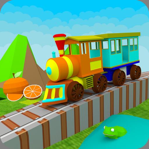 3D Learn Colors Train for Kids 教育 App LOGO-硬是要APP