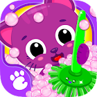 Cute & Tiny House Cleanup - Learn Daily Chores icon