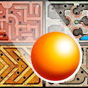 Ball in Maze - Gyroscope Game icon