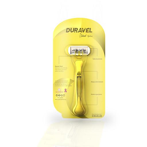 máquina afeitar duravel siluet yellow senos salud 3 hojas desechable