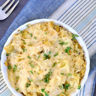 Chicken Artichoke Quinoa Casserole