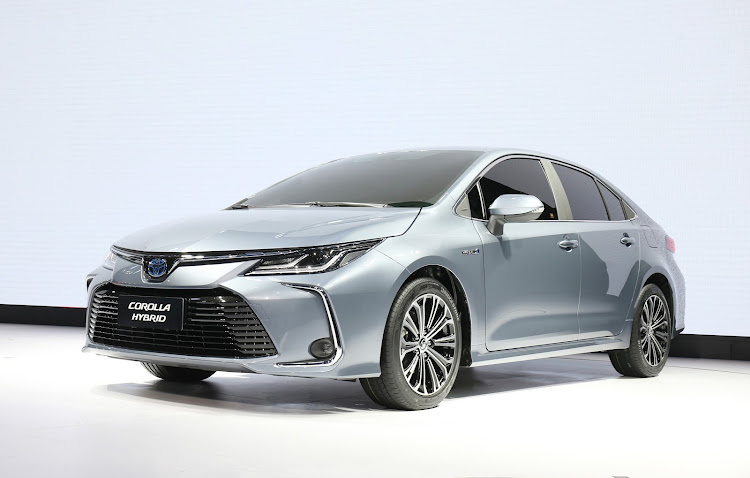 The new 12th-generation Toyota Corolla sports edgier styling. Picture: SUPPLIED