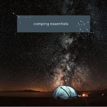 Camping Essentials - Instagram Post Template