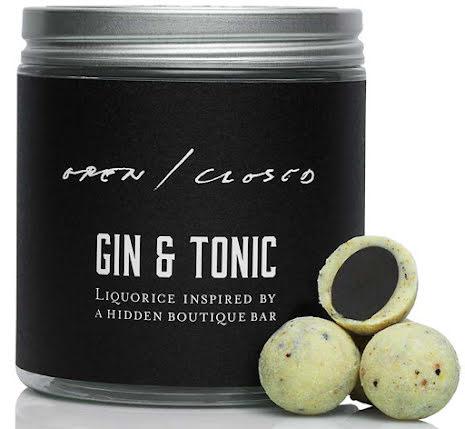 Gin & Tonic – lakrits, enbär, koriander, bergamott, bergpeppar, citron och lime - Haupt Lakrits