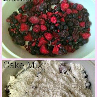 Weight Watchers Mixed Berry Cobbler Cake