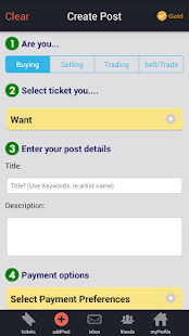 CashorTrade Face Value Tickets- screenshot thumbnail
