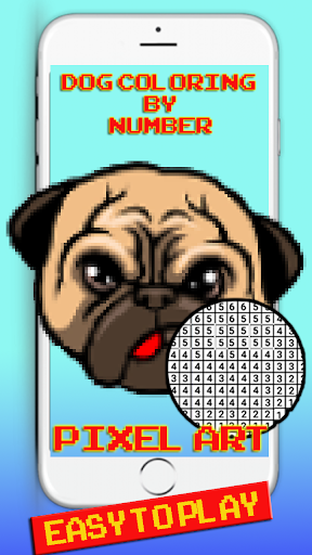 Dog Pixel Art: Coloring By number cheat screenshots 1