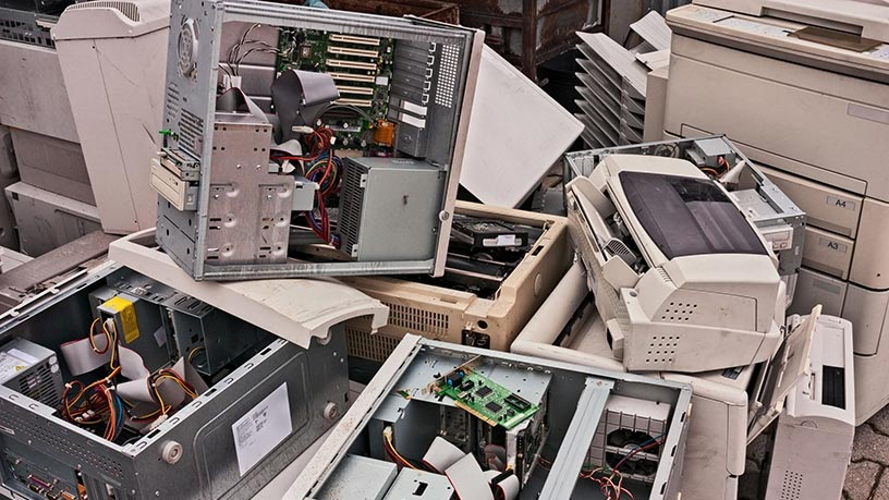 According to UN, less than 20% of e-waste is recycled formally.
