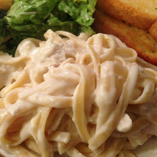 Guiltless Chicken Alfredo