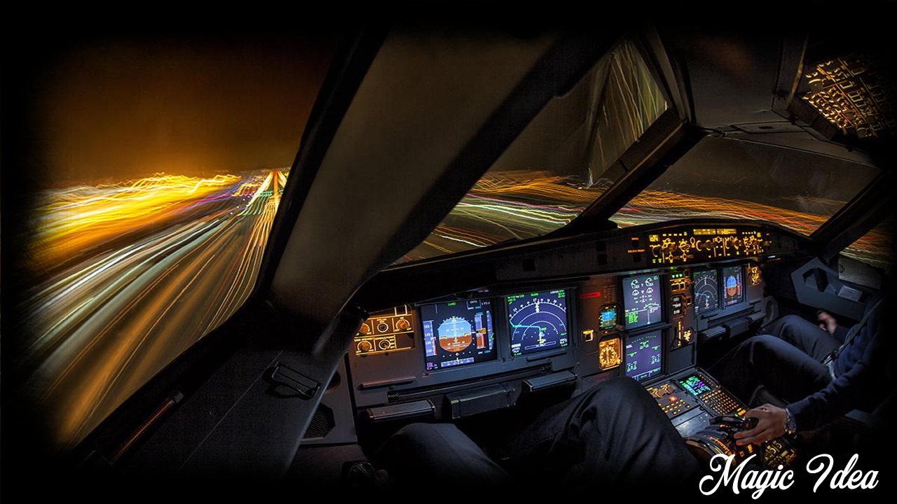 Cockpit wallpaper android apps on google play for Airplane cockpit wall mural