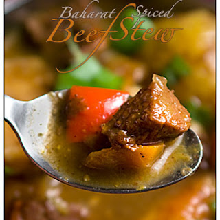 Baharat Spiced Beef Stew (A Wacky Stew)