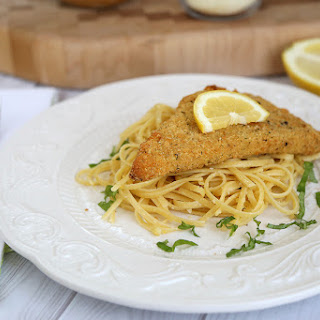 Lemon-Garlic Parmesan Linguini