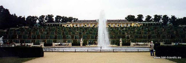 Photo: Potsdam. Paleis Sanssouci.