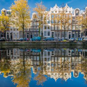 Keizersgracht  by Benjamin Arthur - Buildings & Architecture Homes ( capital cities, holland, amsterdam photographer, dutch, nederlandse fotograaf )