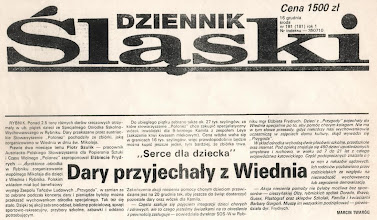 Photo: Dziennik Śląski - 16 grudnia 1992 r.