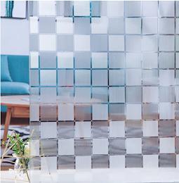 Folie decorativa pentru geam, 45 cm x 300 cm, Sah