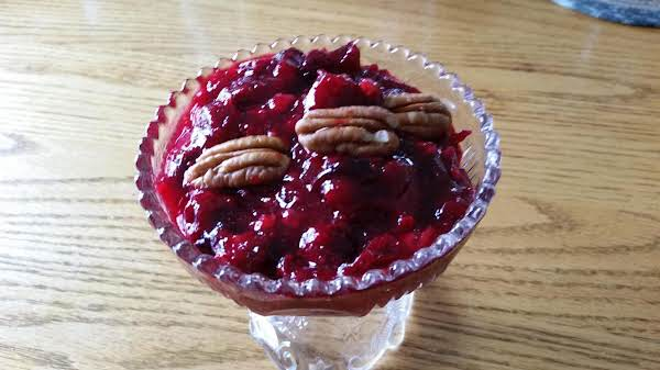 Mothers Cranberry Sauce Recipe