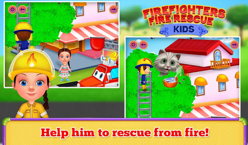 Firefighters Fire Rescue Kids  screenshots 3