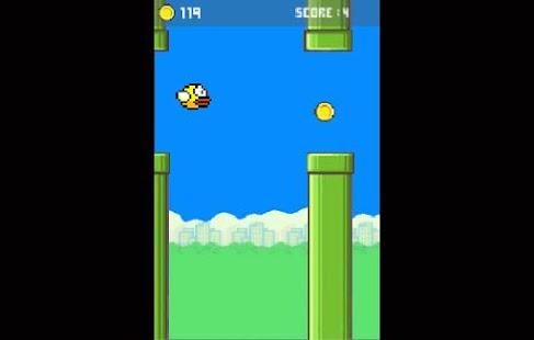 Flappy birds - náhled