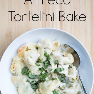 Alfredo Tortellini Bake.