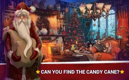 Skrytý Objekt Hry Vánoční Hry - náhled