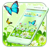 Butterfly Green Nature Theme