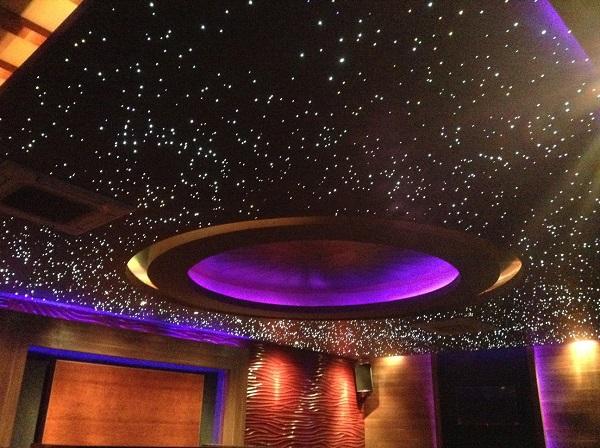 Trần sao Barrisol cho các phòng giải trí