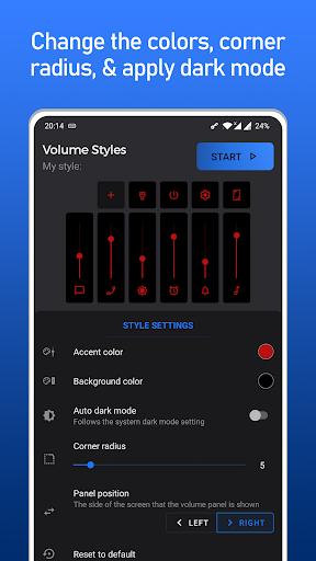 Volume Styles - Panneau de volume personnalisé screenshot 11