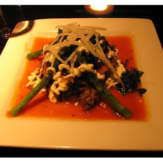 Asparagus With Tomato Sauce.