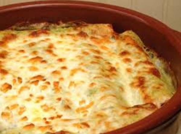 Denise's Seafood Enchiladas Recipe