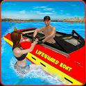 Coast Lifeguard Beach Rescue Duty icon