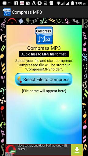 Compress MP3, merge, join, trim, volume booster 2.1.27 screenshots 2