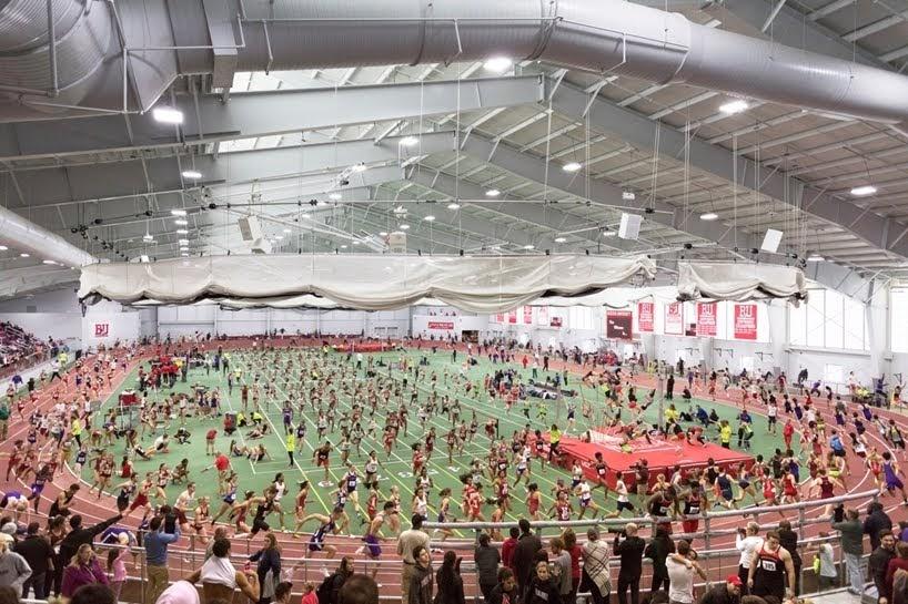 Mareantes patrones de movimiento en eventos atléticos capturados en fotografías