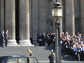 Photo: The Queen after Mass for 9/11 victims