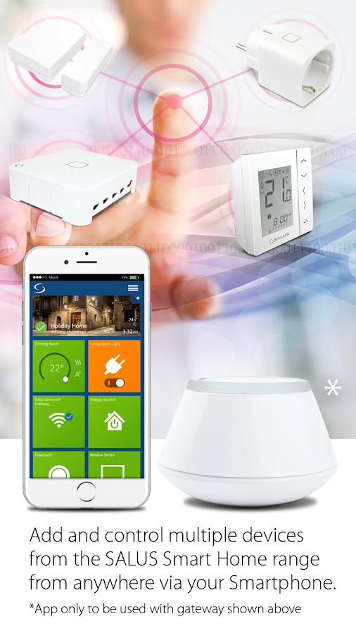 SALUS Smart Home- screenshot