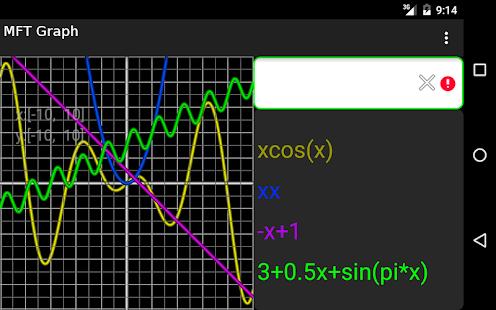 MFT Graph Lite World Screenshot 4