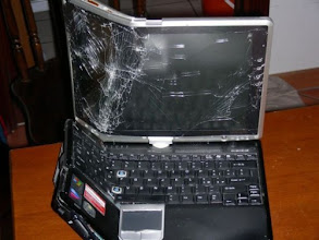 Photo: What the sellers of regular laptops don't want you to see ...