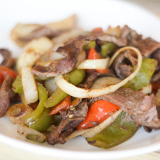Oven Baked Steak Fajitas