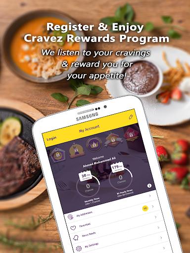 Cravez - Food Delivery 1.5.26 screenshots 14