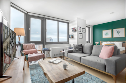 Duane Street Furnished Apartment, Financial district