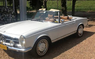 Mercedes-Benz 280SL Pagoda Rent Western Cape