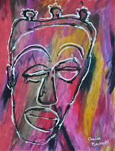 """Photo: Speak, 2011 - Acrylic Ink and Oil Pastel on Paper - 19"""" X 24"""""""