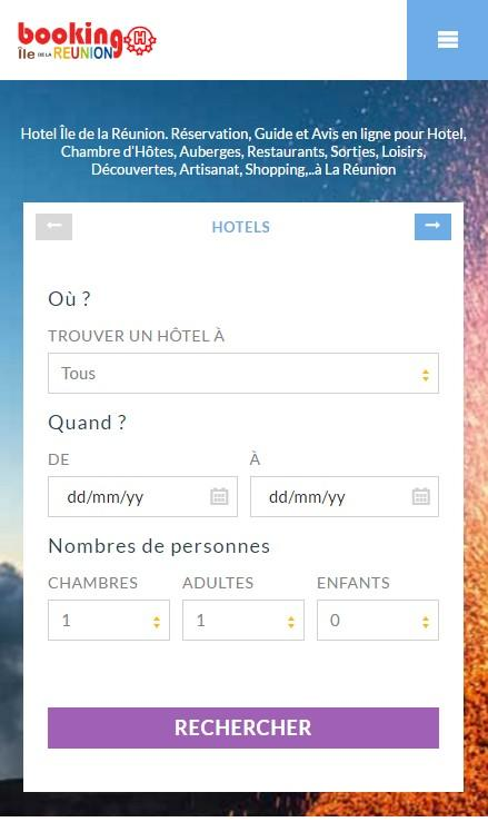 Booking Hôtel Ile La Réunion- screenshot